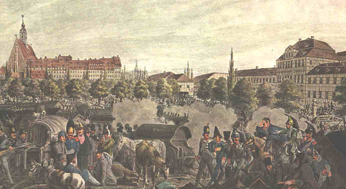 Battle of Leipzig 16—19 октября 1813