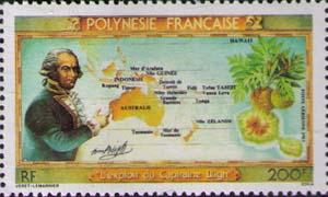 Bligh, Roud map and Breadfruit