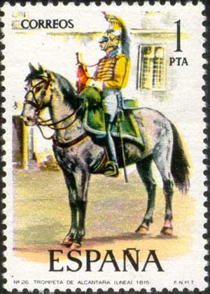 Alcantara regiment, 1815