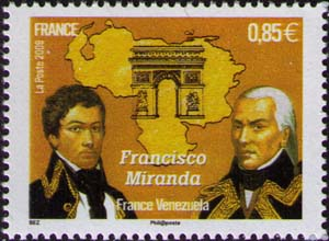 Francisco Miranda, Arc de Triomphe