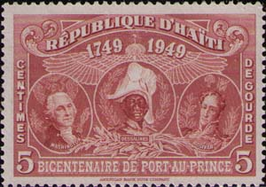 Washington, Dessalines and Bolivar