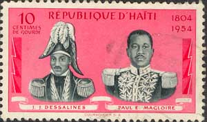 Dessalines and Pres. Magloir