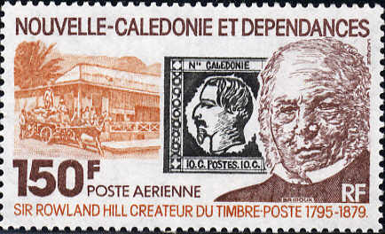 Stamp with Napoleon III