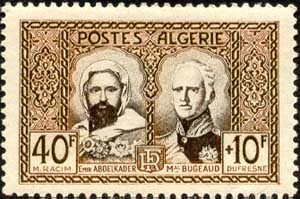 Abd al-Kader and Marshal Bugeaud
