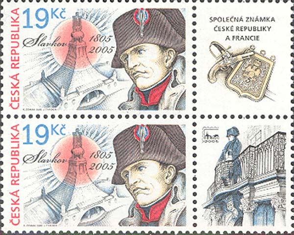 Napoleon Bonaparte and Cairn of peace