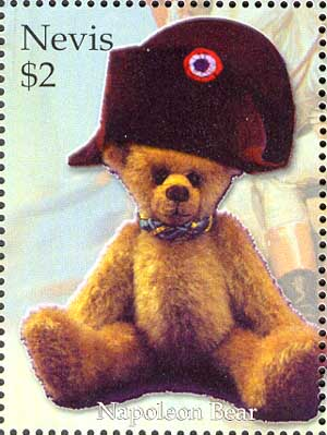 Teddy Bear as Napoleon