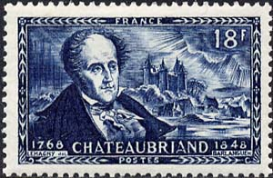 Portrait of Chateaubriand