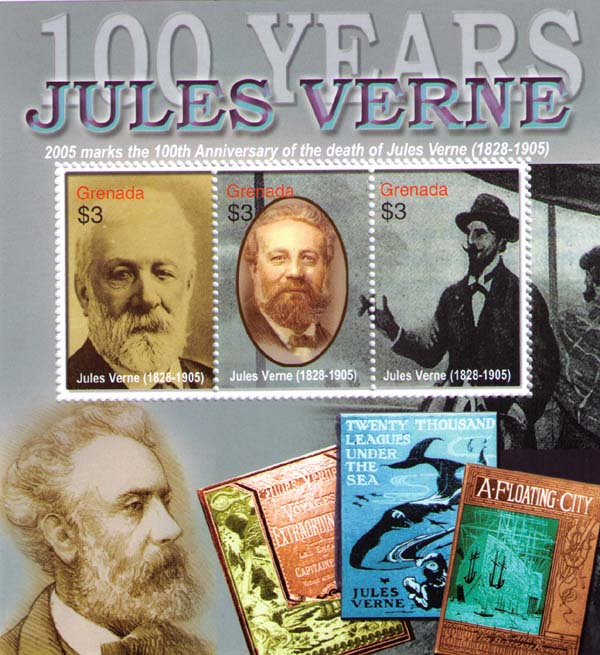 Portraits of Jules Verne