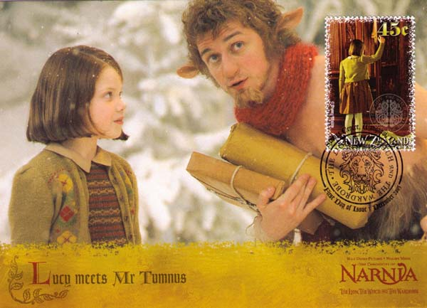 Lusy meets Mr. Tumnus