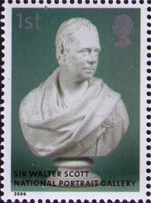 Bust of Walter Scott