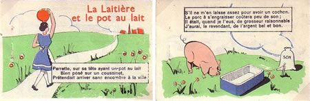 Lottery Fables of La Fontain