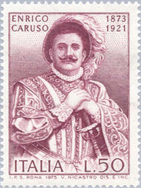 Caruso as Duke of Mantua