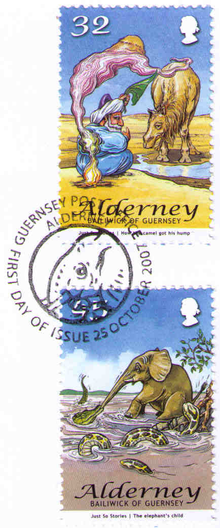 Guernsey. The Elefant's Child