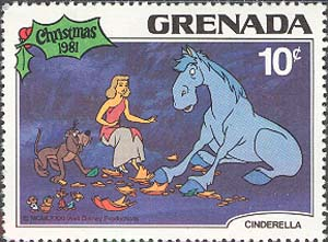 Cinderella, Bruno and the horse