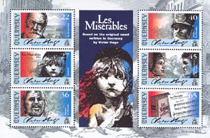 Novel and the score for «Les Misrables»