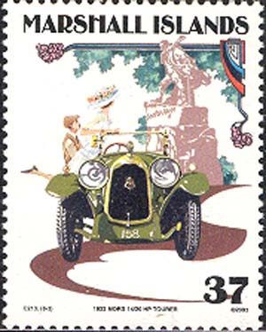 «Mors 14/20 HP Tourer» near Hugo's Monument
