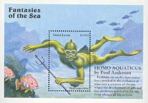 homo aquaticus The aquamorph, homo aquaticus, is one of the first genetically modified species of humans in the book man after man: an anthropology of the future, designed for life.