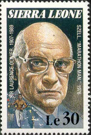Laurence Olivier as Szell