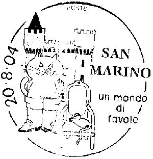 San-Marino. Puss in the Boots