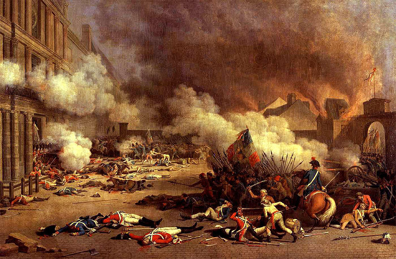 Mob attacks the Tuileries