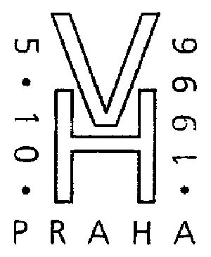 Prague. Monogramma of Havel