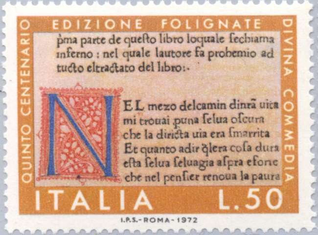 Initial and First Verse (Foligno edition)