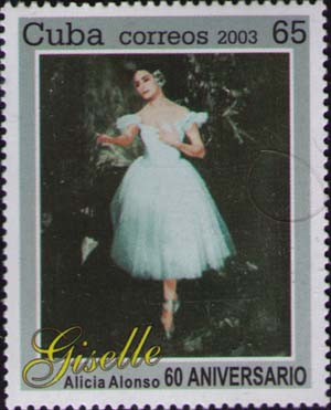 Alicia Alonso as Giselle