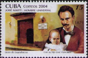 Jose Marti with son
