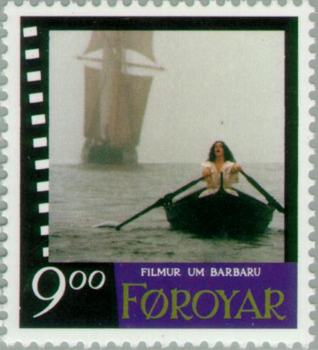 Barbara in rowing boat