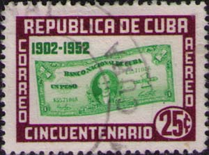 Banknote with Jose Marti