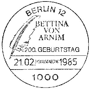 Berlin. Bettina von Arnim