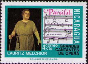 Lauriz Melchor in «Parsifal»