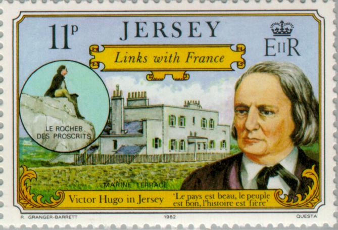 Hugo, his house on Jersey
