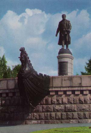 Monument to Afanasy Nikitin