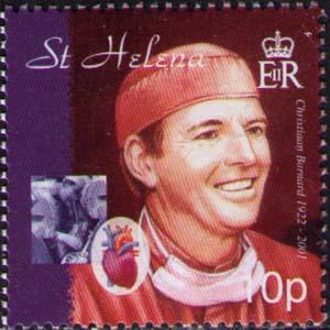 (原创)看邮票识南非15:世界首例人类心脏移植手术2 - 六一儿童 - 译海拾蚌
