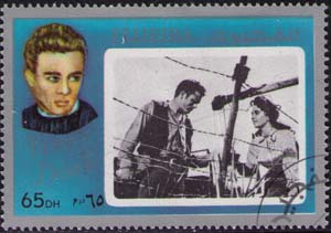James Dean in «Giant»