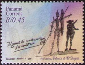 Don Quixote and Sancho Pansa