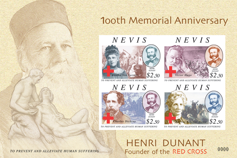 Henri Dunant and writers