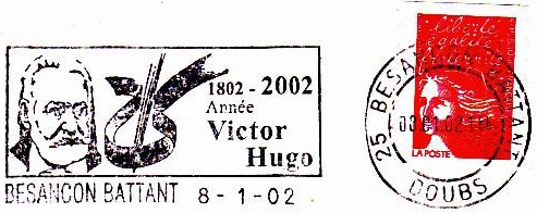 Besanson. Year of Victor Hugo