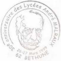 Bethune. Andre Malraux