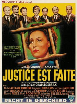 «Justice Is Done» («Justice est faite»)