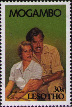 Gable and Kelly in «Mogambo»
