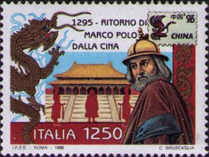 Marco Polo and Palace in Forbidden City