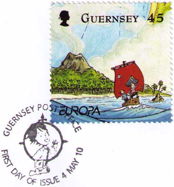 Guernsey. Penny the Postie