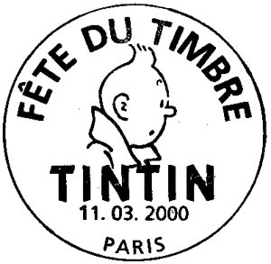 Paris. Tintin