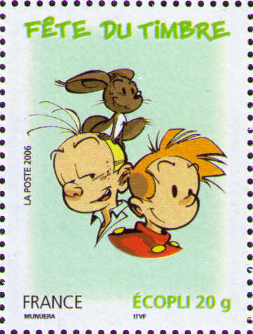 Fantasio, Spip and Spirou