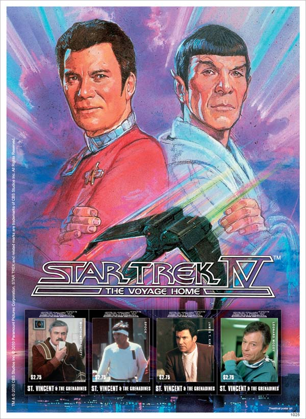 Characters of «Star Trek IV: The Voyage Home»