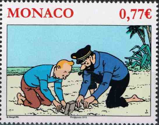 Tintin and Haddock