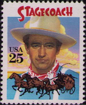 John Wayne in «Stagecoach»