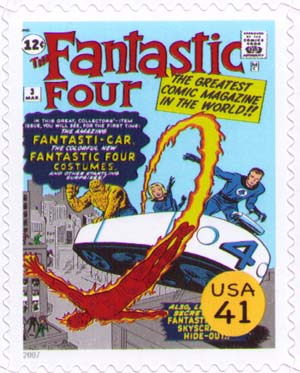 The Fantastic Four cover
